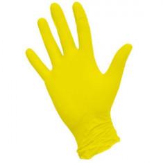 перчатки nitrimax нитриловые неопудренные желтые xs 100шт ARCHDALE