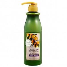 Welcos, confume argan treatment  aqua hair serum, сыворотка для волос с аргановым маслом, 500 мл