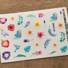 Anna Tkacheva, Стикер ST-CW №030 «Цветы. Листья»