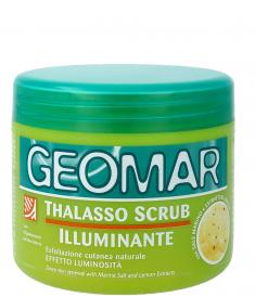 GEOMAR Скраб-талассо осветляющий с гранулами лимона для тела 600 г