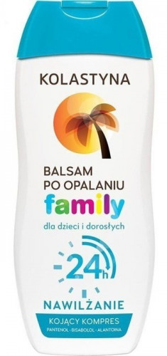 KOLASTYNA Бальзам после загара для детей и взрослых / FAMILY 200 мл