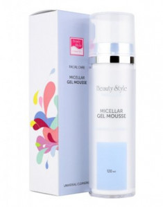 Мицеллярный очищающий гель-мусс для всех типов кожи Beauty Style Cleansing universal 120 мл