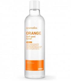 тонер с экстрактом апельсина aromatica orange soft peel toner