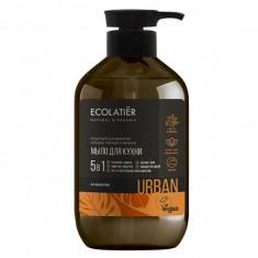 Ecolatier Urban Жидкое мыло для рук Клементин кухонное 600мл