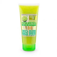 Organic Shop Скраб для тела Освежающий lime 200мл