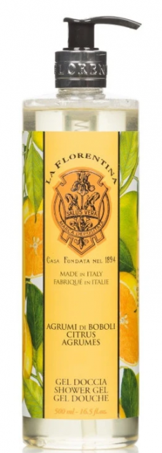 LA FLORENTINA Гель для душа, цитрус / Citrus 500 мл