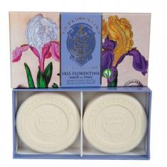 La Florentina мыло Флорентийский Ирис набор 2шт по 115г