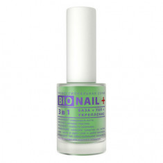 Dia D'oro, Средство для ногтей 3 в 1 Bio Nail+, 11 мл