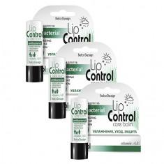 Belor Design, Бальзам для губ Lip Control «Антибактериальный», 3 шт.