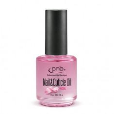 PNB, Масло для ногтей и кутикулы, с ароматом розы, 15 мл