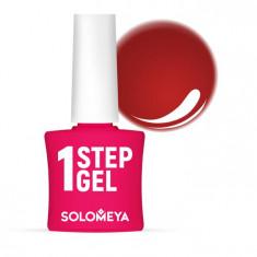 SOLOMEYA Гель-лак однофазный для ногтей, 52 пион/ One Step Gel Peony4,5 мл