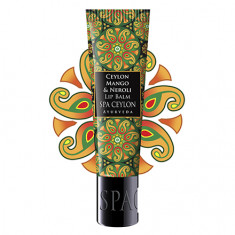 Spa Ceylon, Бальзам для губ «Цейлонский манго и нероли», 12 г
