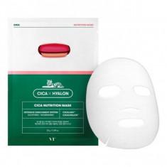 тканевая маска для лица vt cosmetics cica nutrition mask