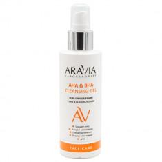 Aravia Laboratories Гель очищающий с aha&bha кислотами  aha&bha cleansing gel 150мл Aravia professional