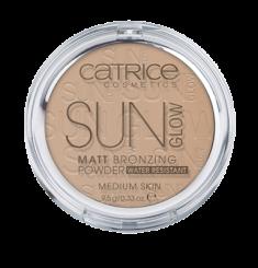 Пудра компактная с эффектом загара матирующая CATRICE Sun Glow Matt Bronzing Powder 030 бежевый