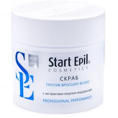 Aravia Start Epil Скраб против вросших волос с экстрактами морских водорослей 300 мл Aravia professional