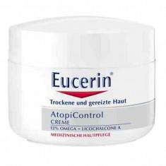 Eucerin Atopicontrol Крем для тела взрослых детей и младенцев 75мл