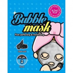 пузырьковая тканевая маска с углем bling pop bubble mask