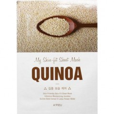 Tканевая маска для лица с экстрактом киноа My Skin-Fit Sheet Mask Quinoa A'PIEU